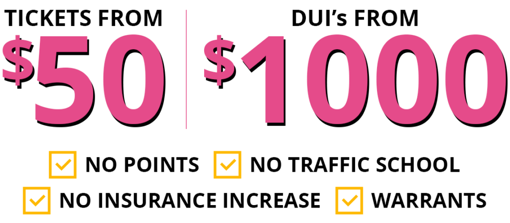 702 Traffic Ticket Deals & Prices